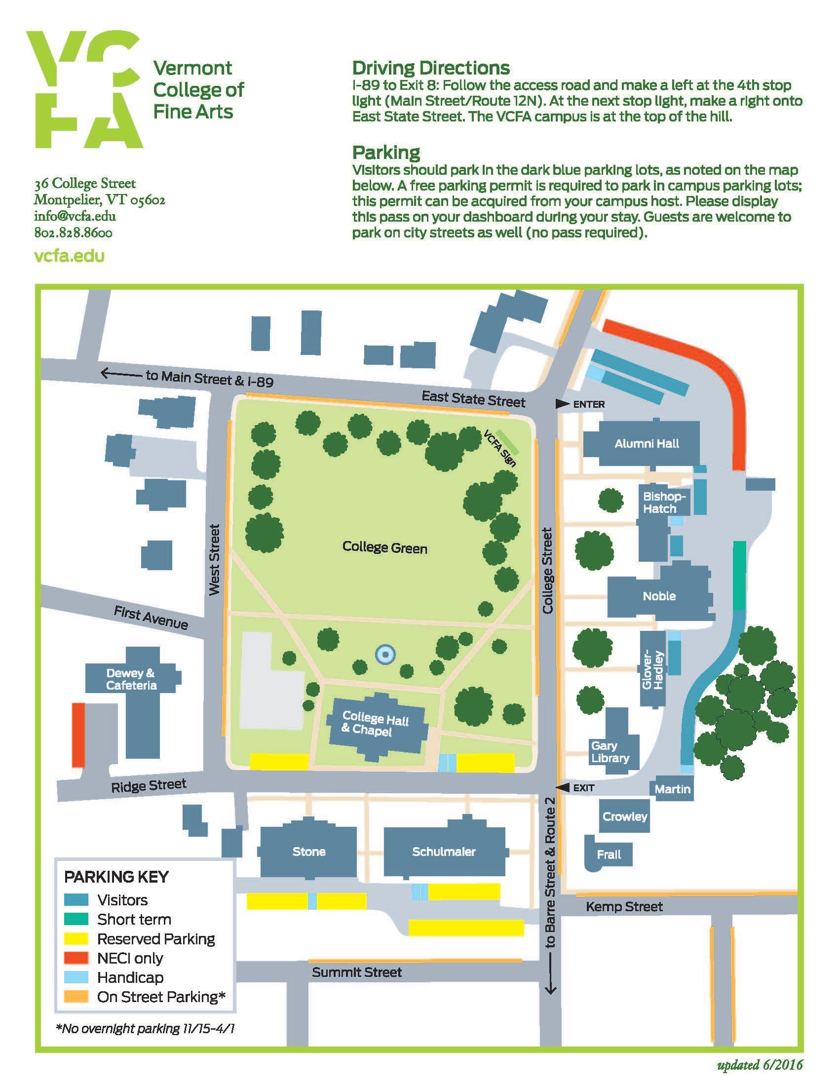 Campus Map Campus Services